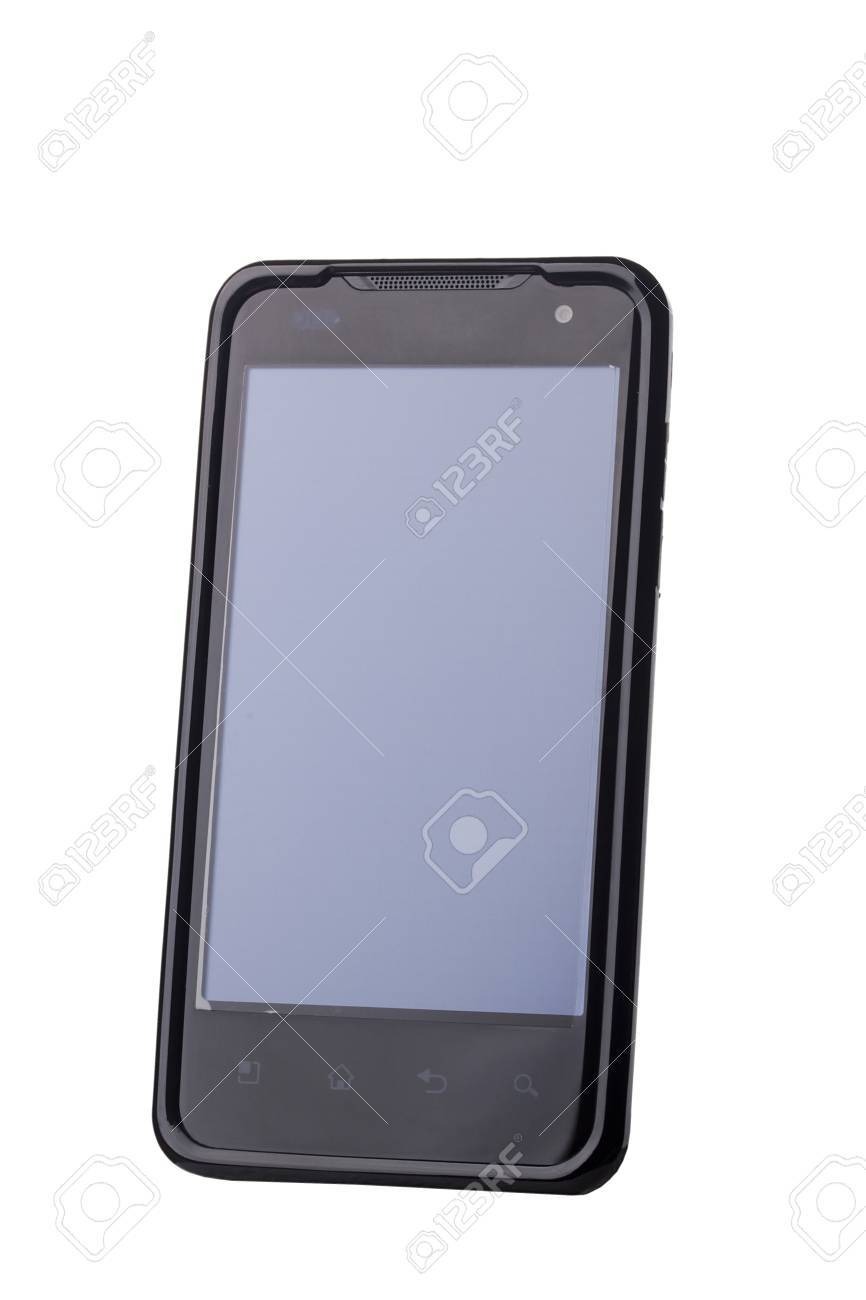 New G2x T-Mobile phone isolated on a white background. Stock Photo - 9426359