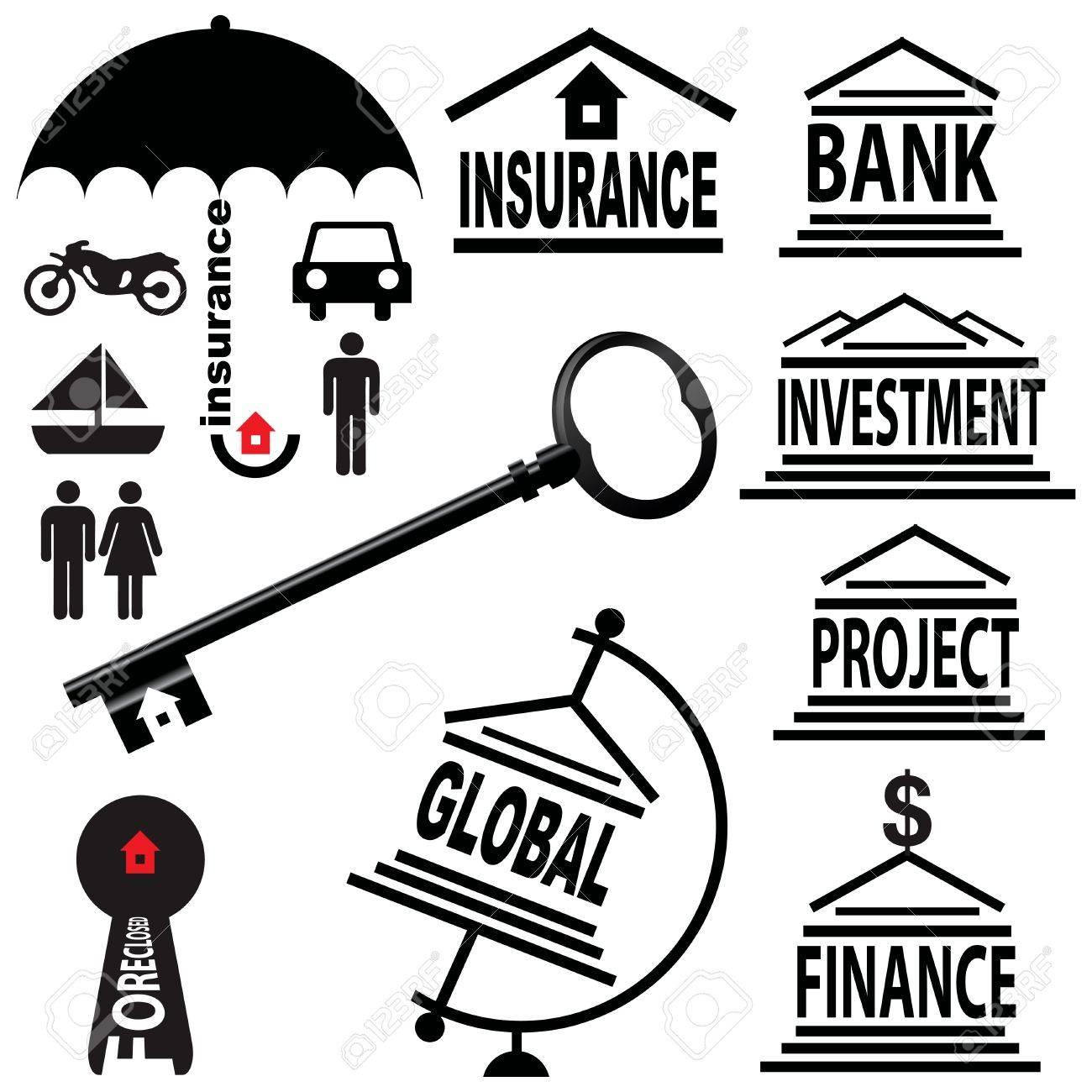 Creative on the financial topics Stock Vector - 13164252