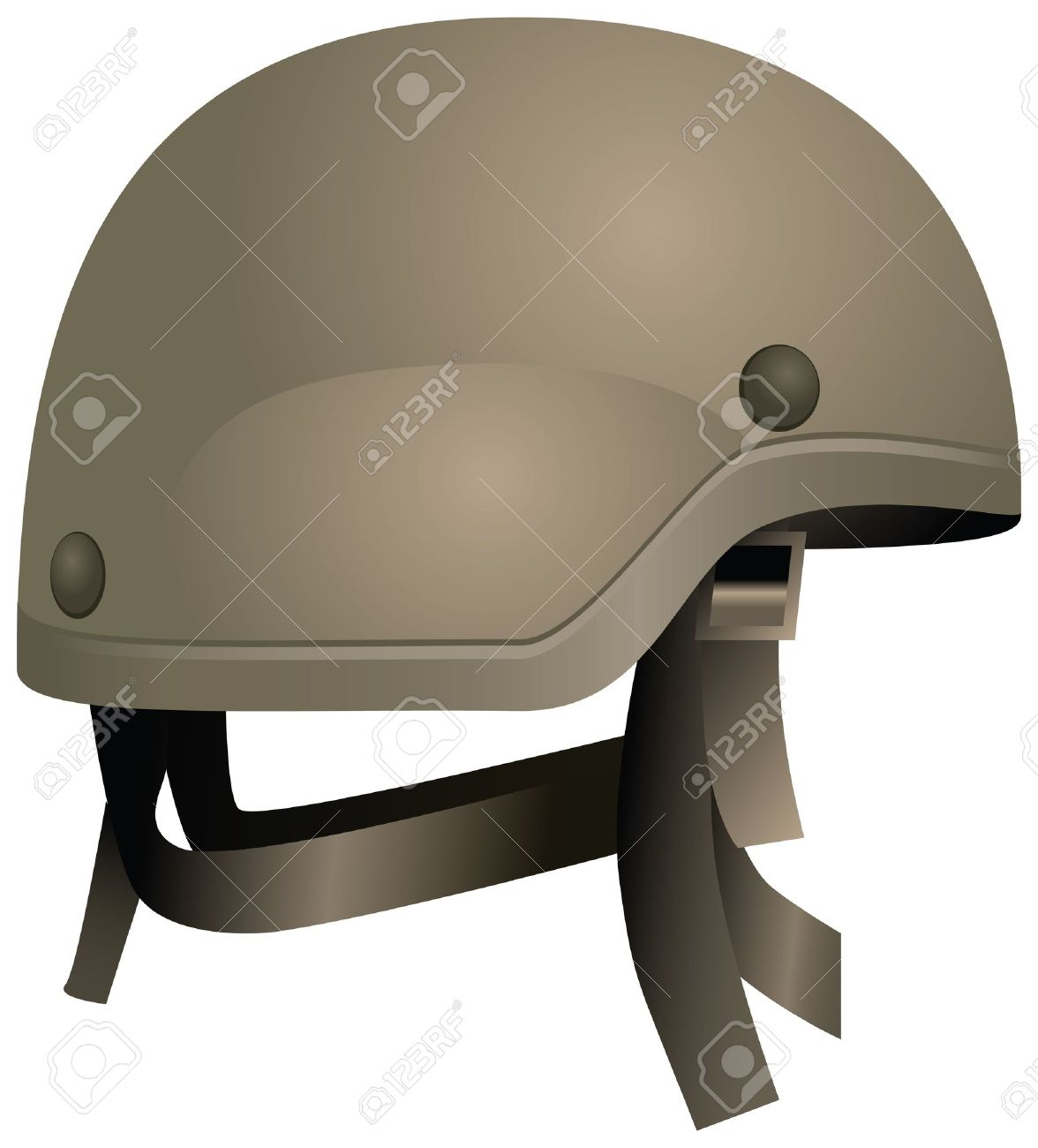 Modern Combat Helmets. Military Equipment. Royalty Free Cliparts ...