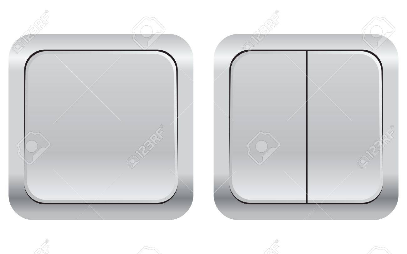 A set of household electrical switches. Vector illustration. Stock Vector - 17276167
