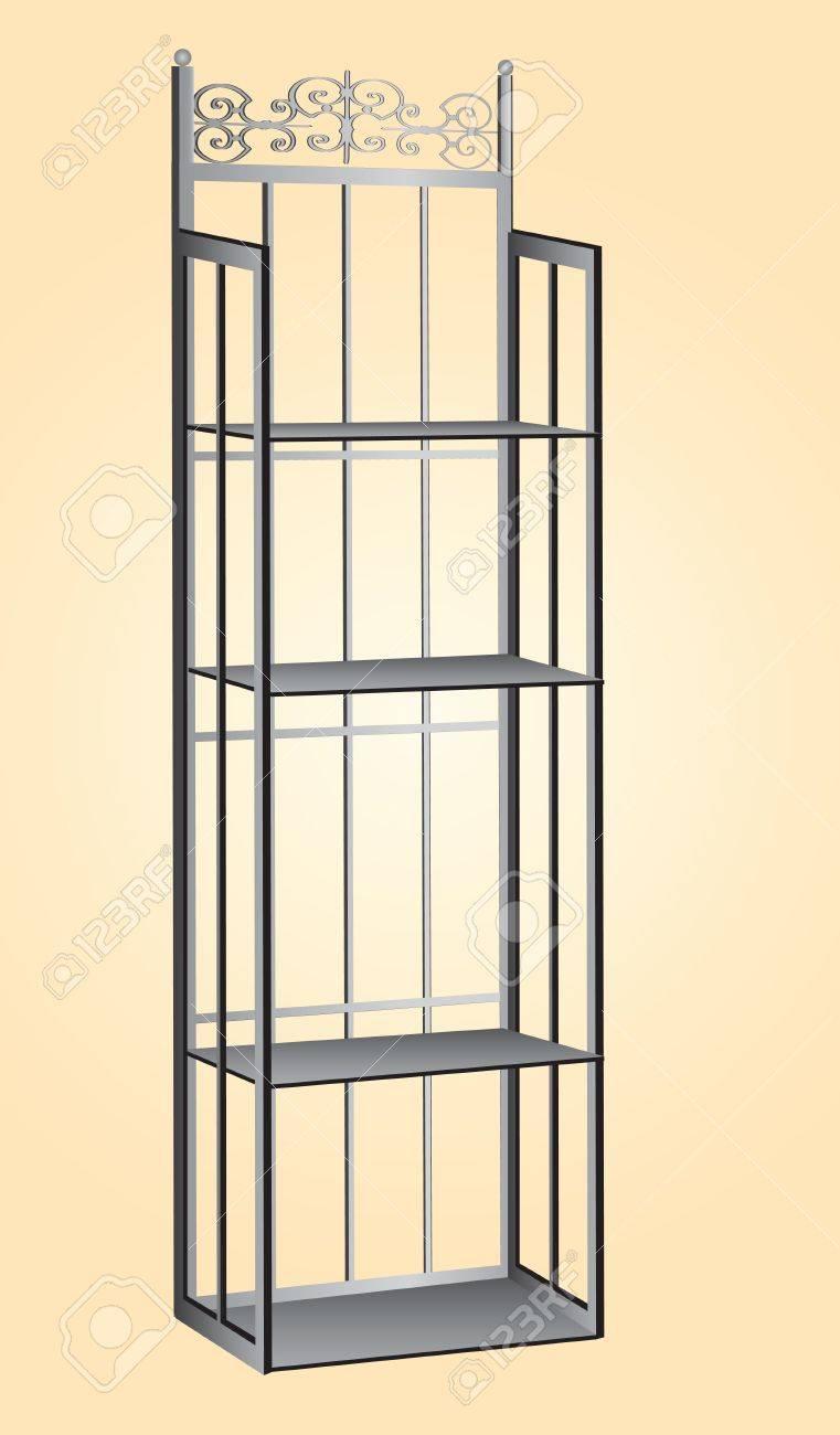 Metall Küche Rack Für Die Lagerung Von Zutaten Für Das Bäcker ...