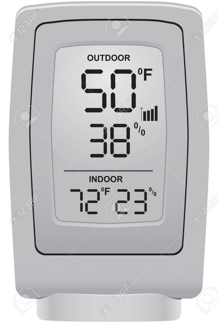 Outdoor thermometer and humidity sensor for use in a domestic environment. - 52529872