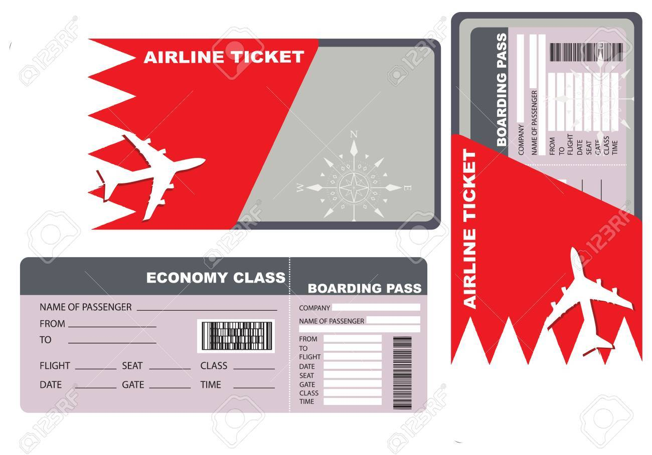 Economy class ticket for a flight to Bahrain