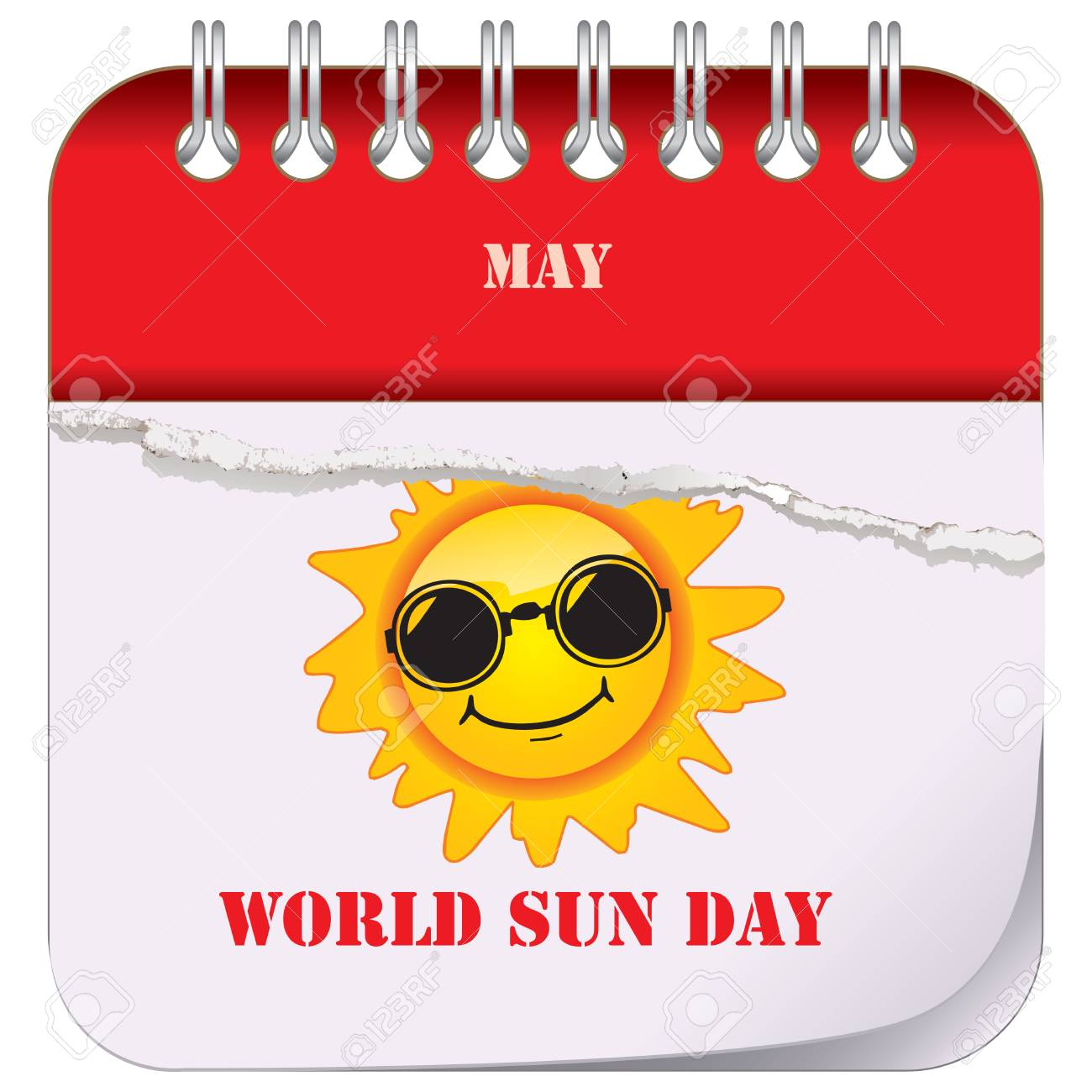 World Sun Day In May Calendar Of Holiday Dates With Sun In