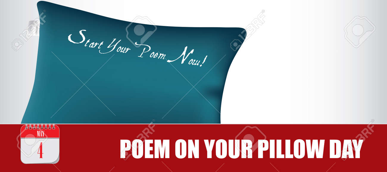 Card for event may day Poem on Your Pillow Day - 168987670