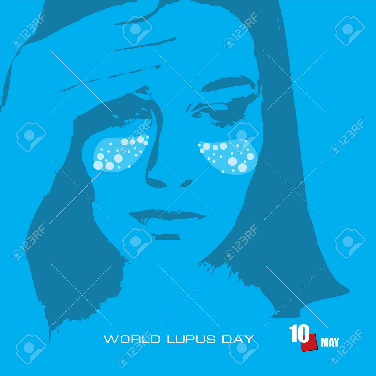 The calendar event is celebrated in may - World Lupus Day - 168987673