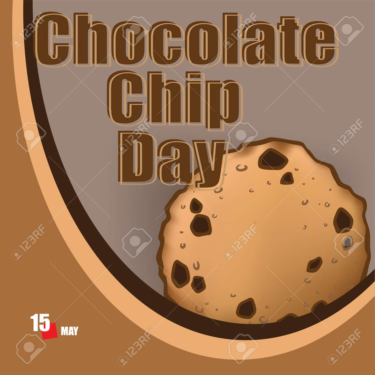 A festive event celebrated in May - Chocolate Chip Day - 168987784