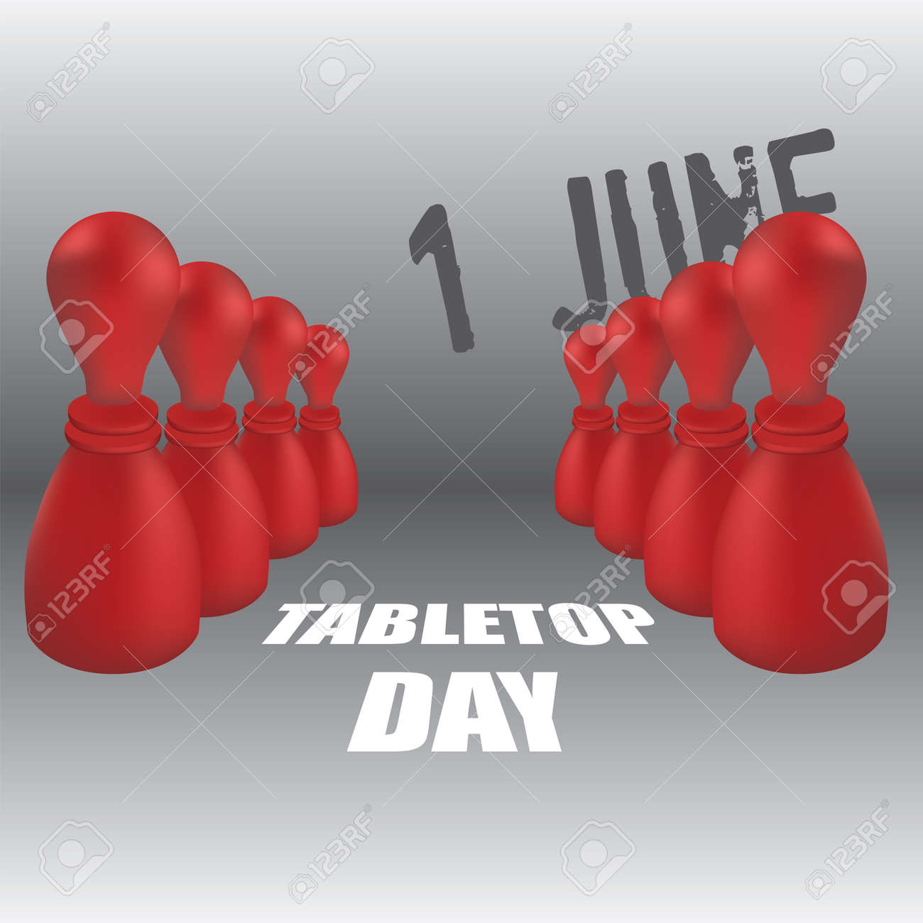 The calendar event is celebrated in june - TableTop Day - 169442154