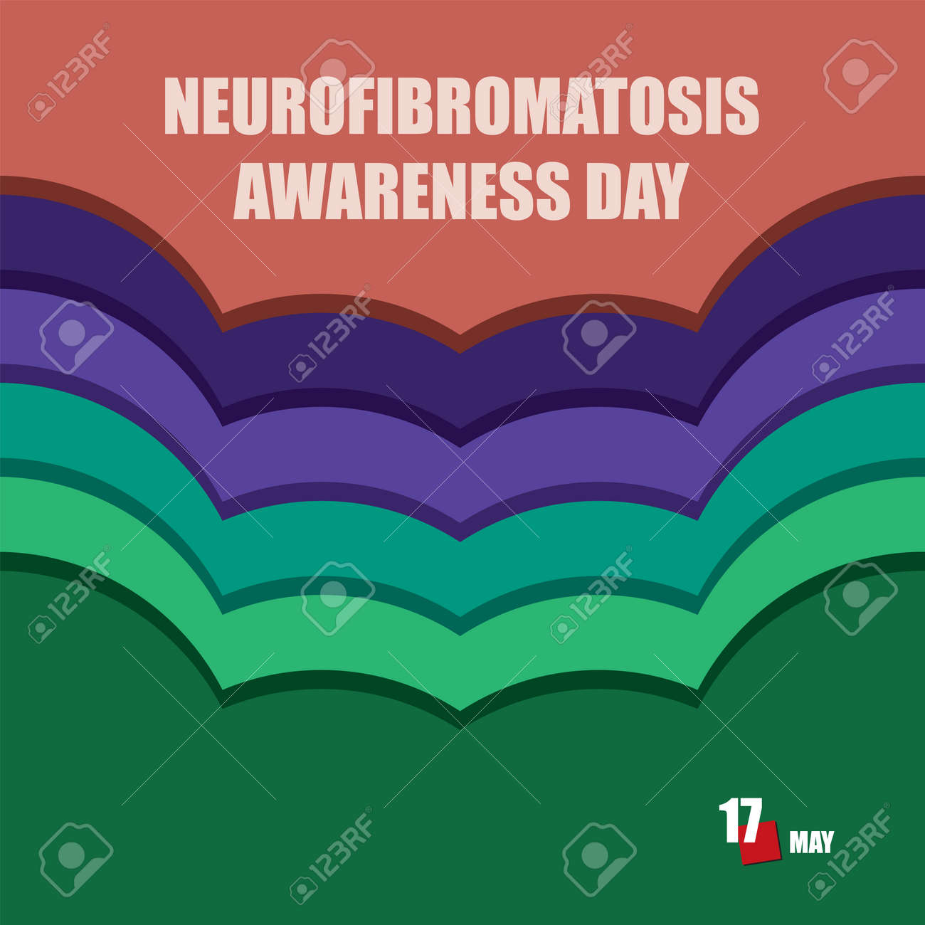 The calendar event is celebrated in may - Neurofibromatosis Awareness Day - 169442157