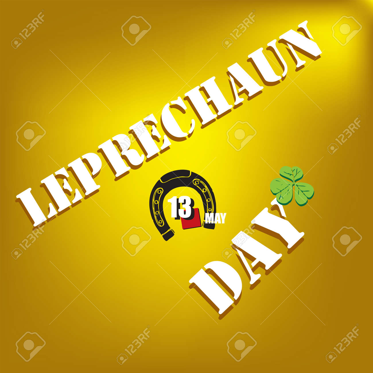 The calendar event is celebrated in may - Leprechaun Day - 169676018