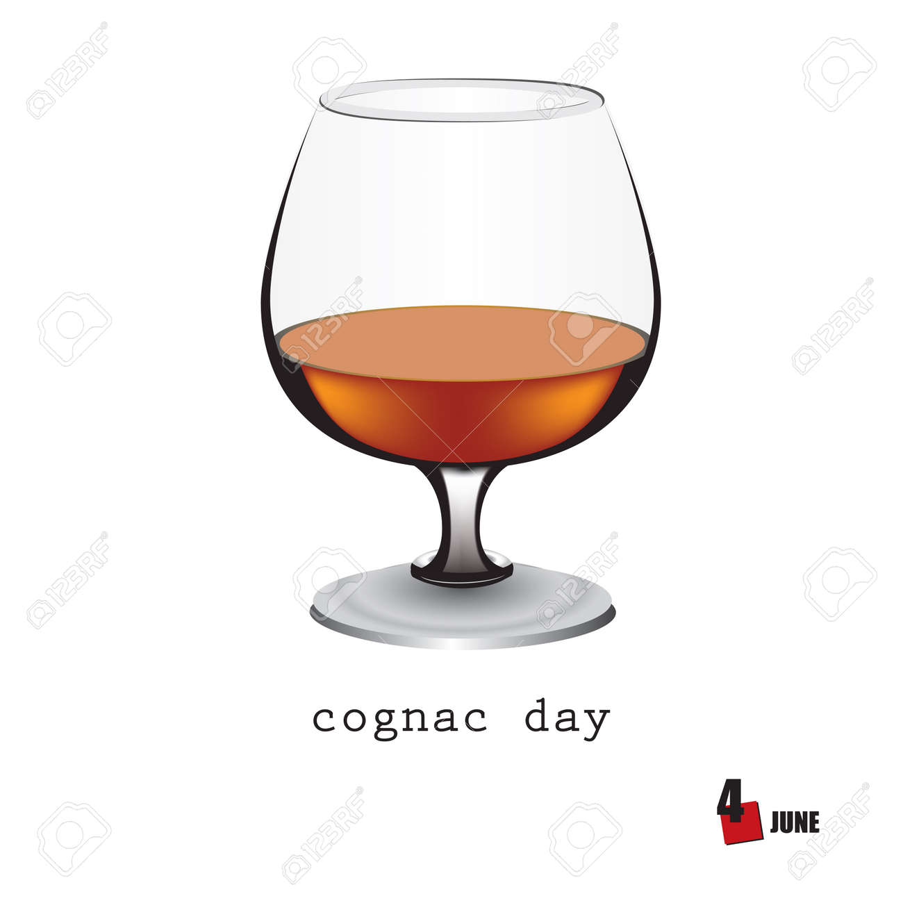 The calendar event is celebrated in june - Cognac Day - 169676022