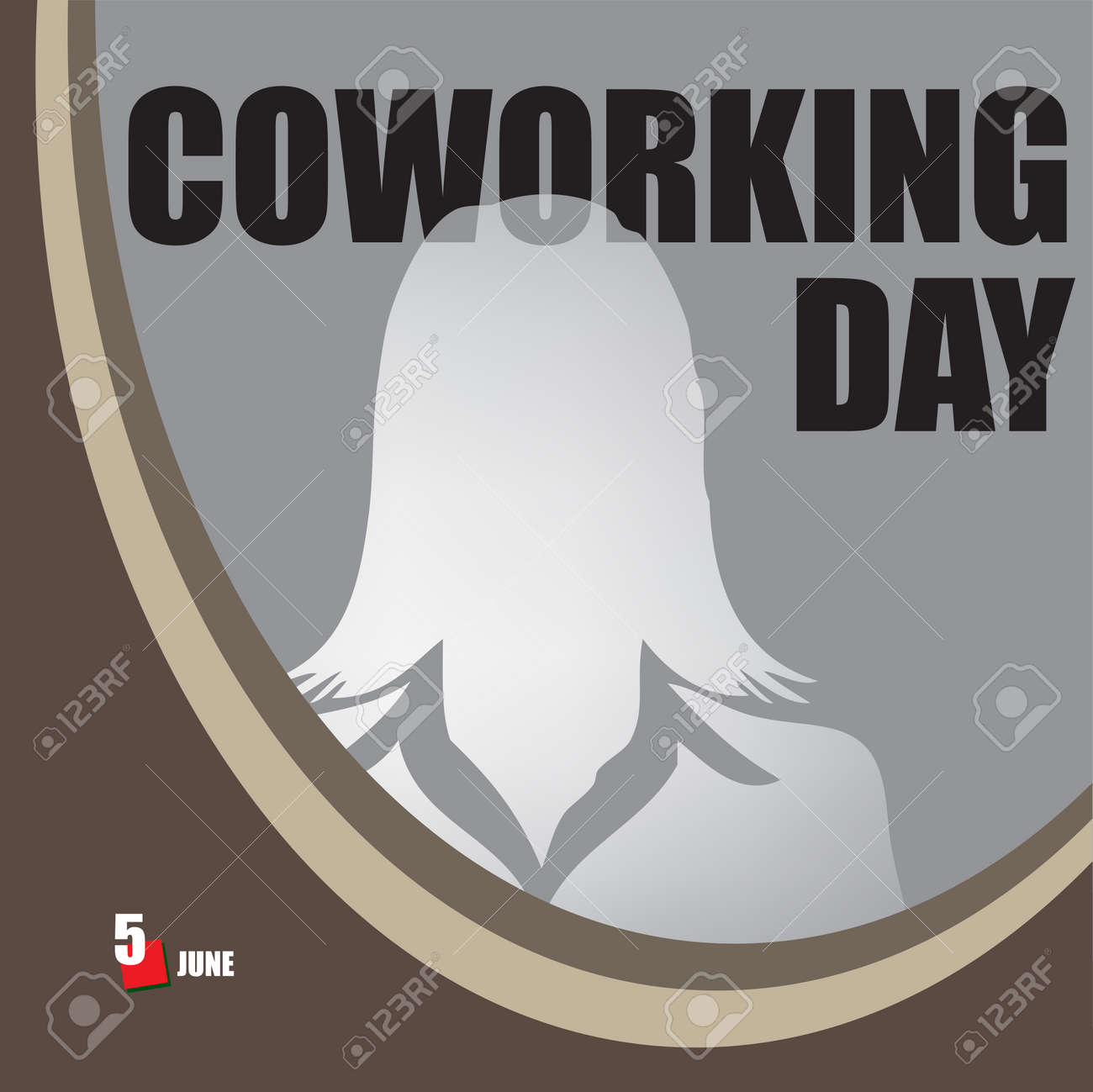 A festive event celebrated in june - Coworking Day - 169730056