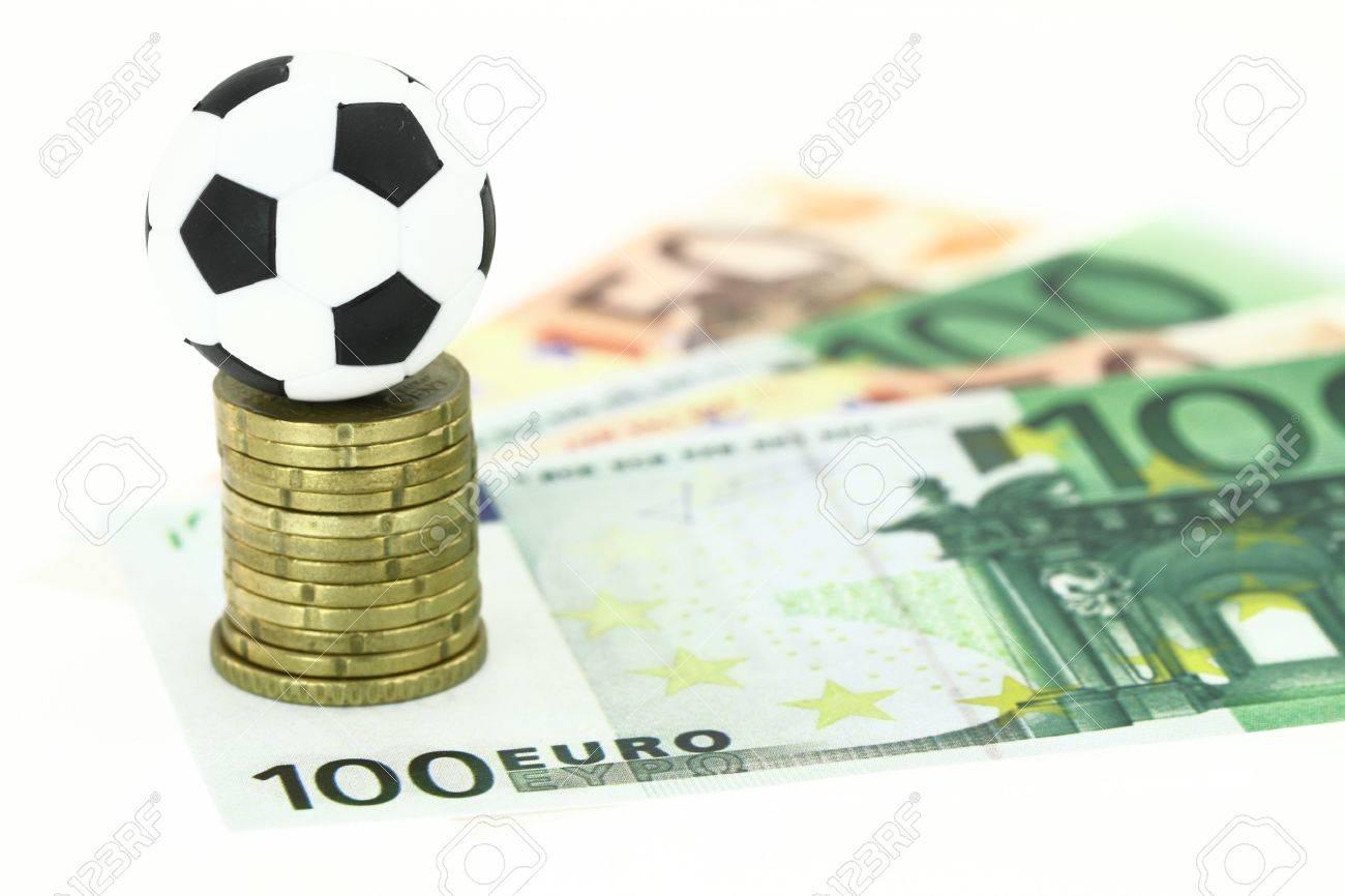 Football and money Stock Photo - 12687332