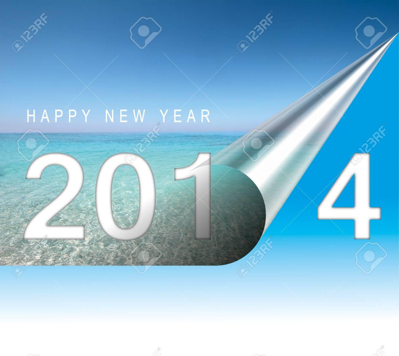 Happy new year card Stock Photo - 17109850