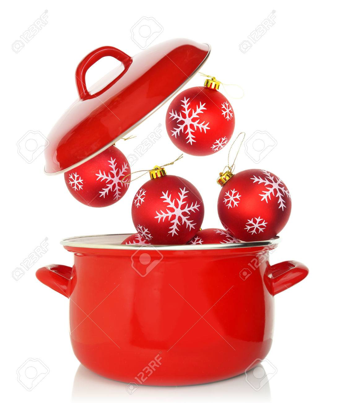 cooking christmas ornaments