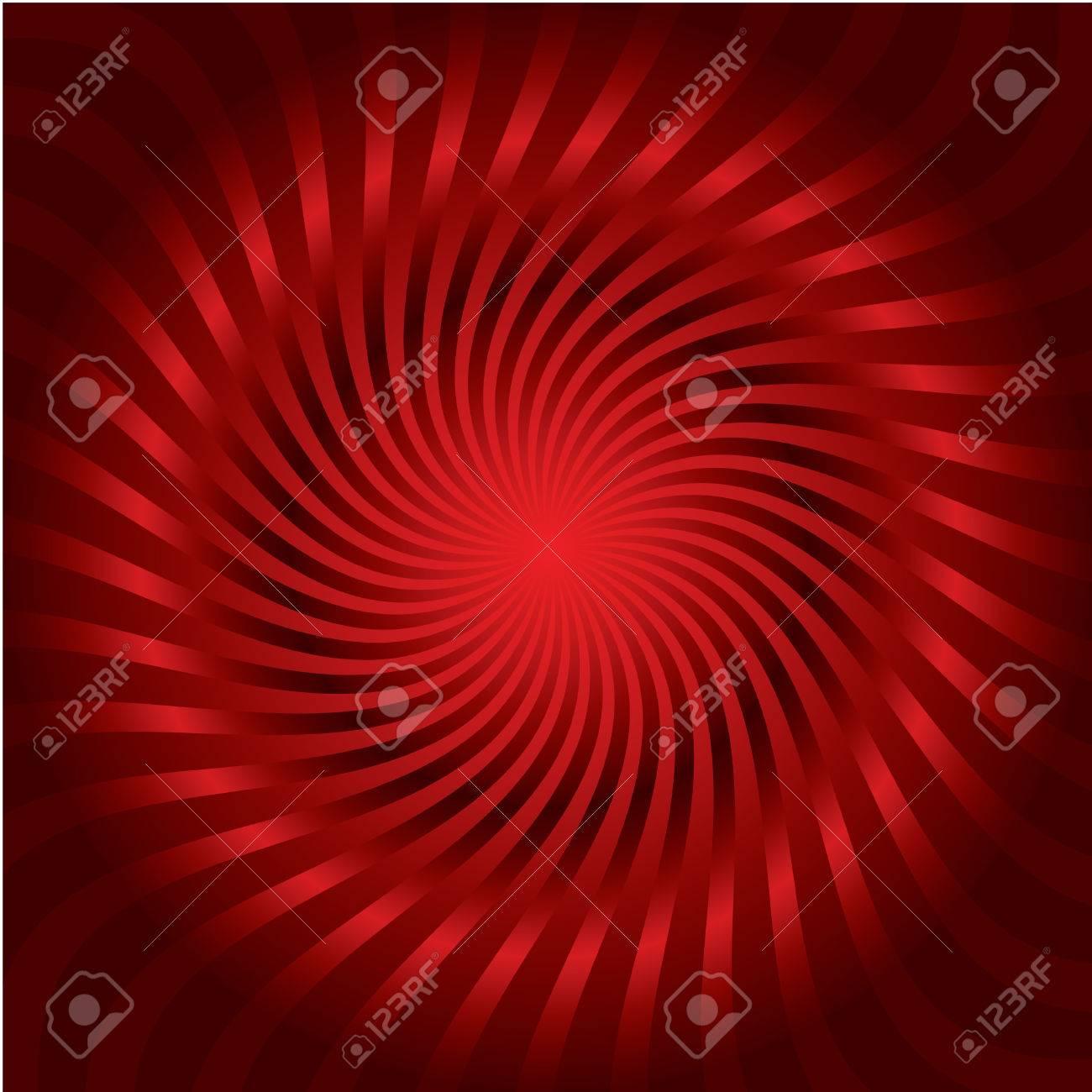 Red twirl Stock Vector - 6655525