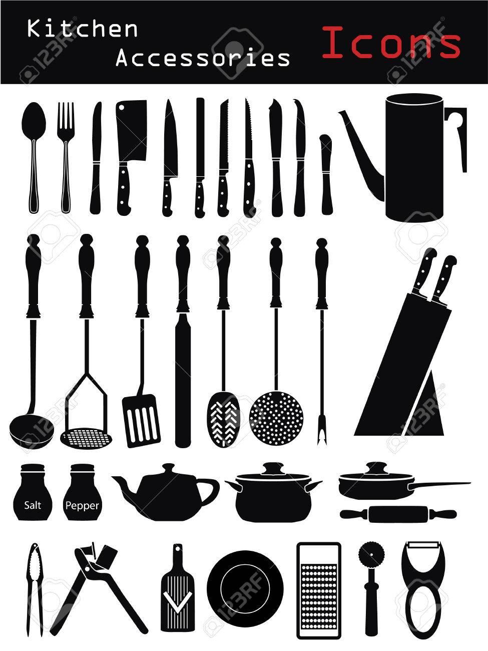 Kitchen Accessories Stock Vector - 6688217