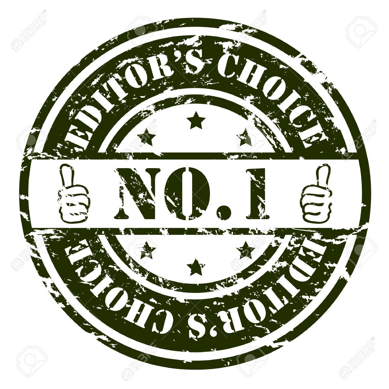 No. 1 stamp Stock Vector - 6688309