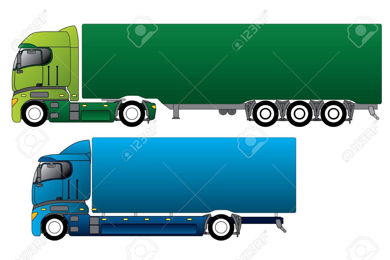Trucks Stock Vector - 7780198
