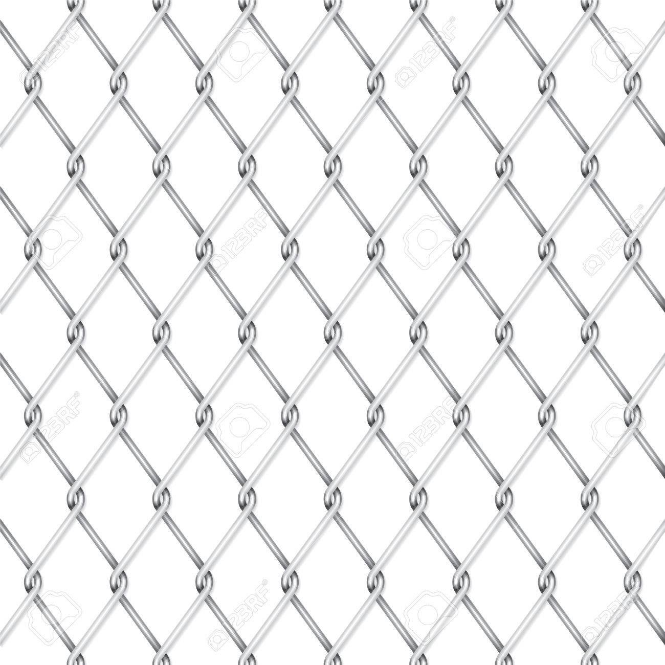 Vector wire fence Stock Vector - 8895801