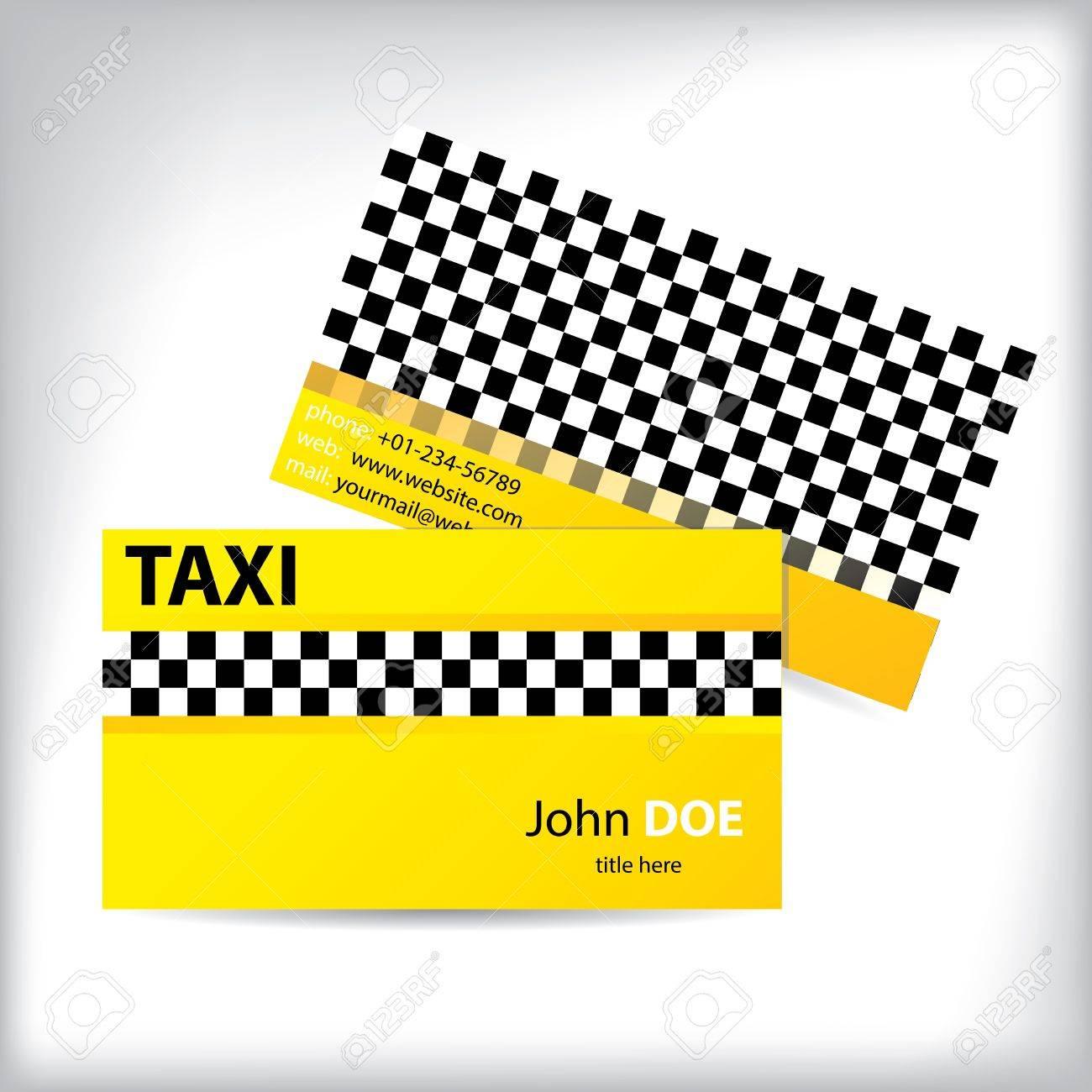 Checkered business card design for taxi drivers royalty free checkered business card design for taxi drivers stock vector 17698896 colourmoves
