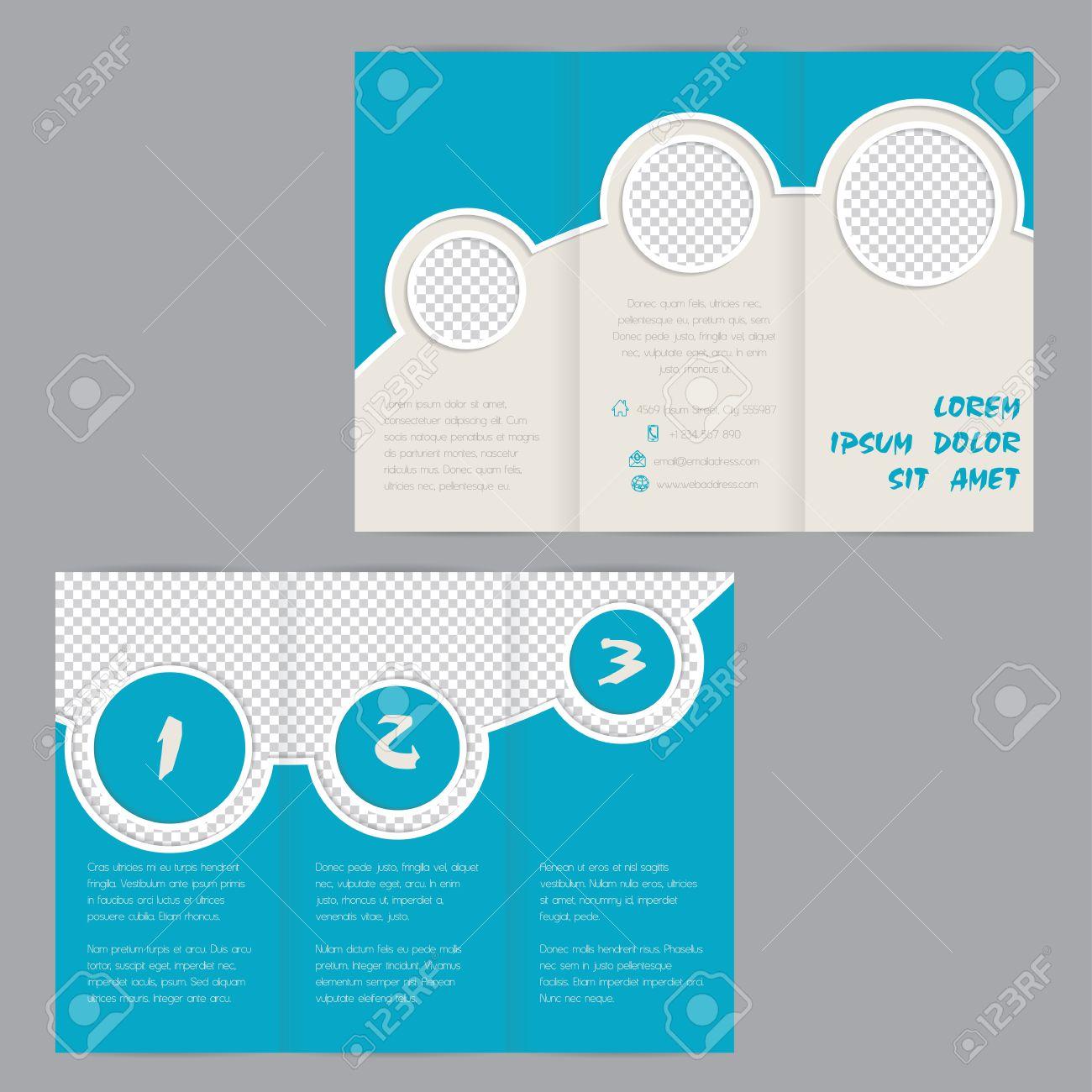 3 fold brochures templates