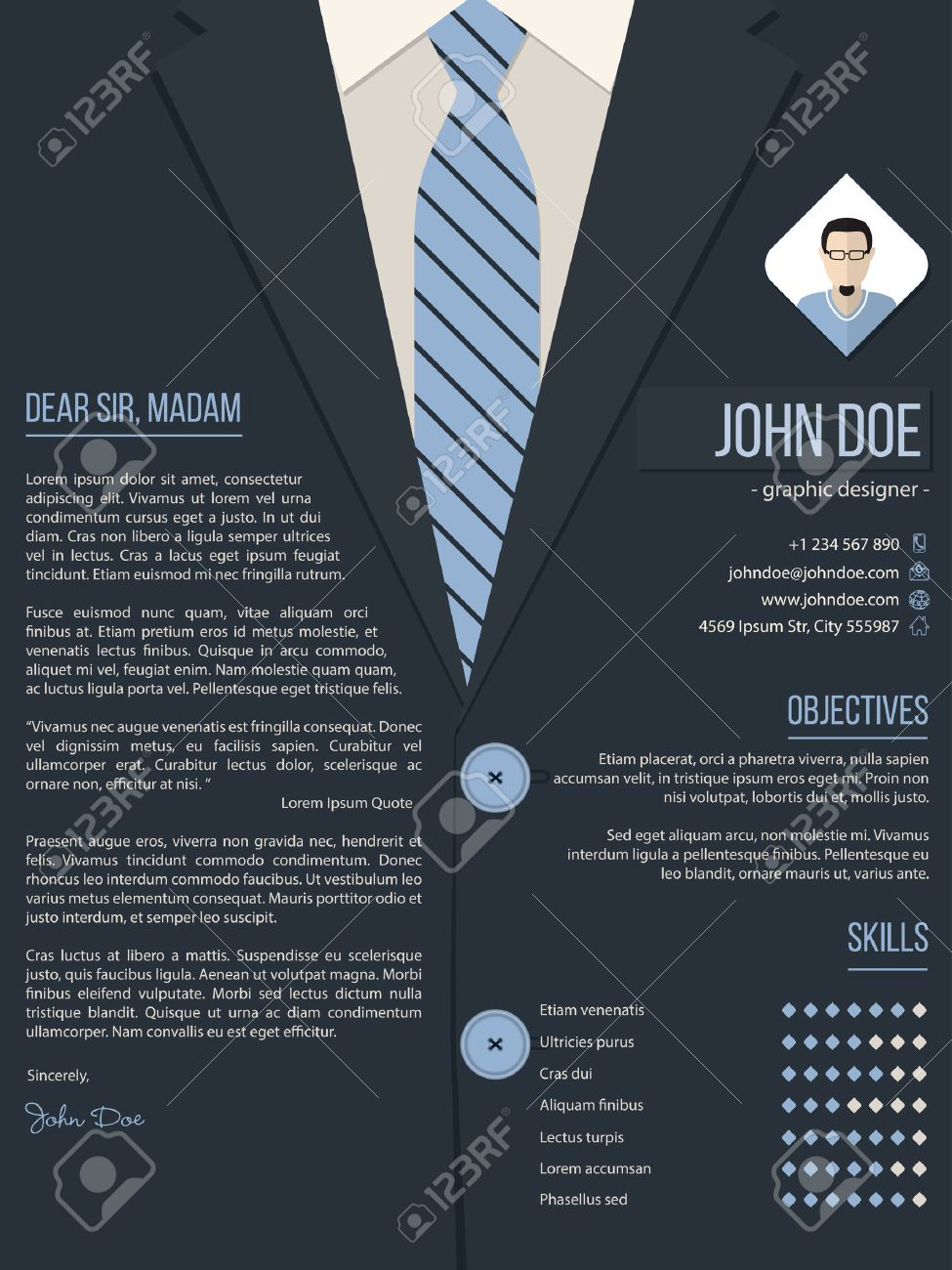 Free Resume Templates Product Designer Graphic Design