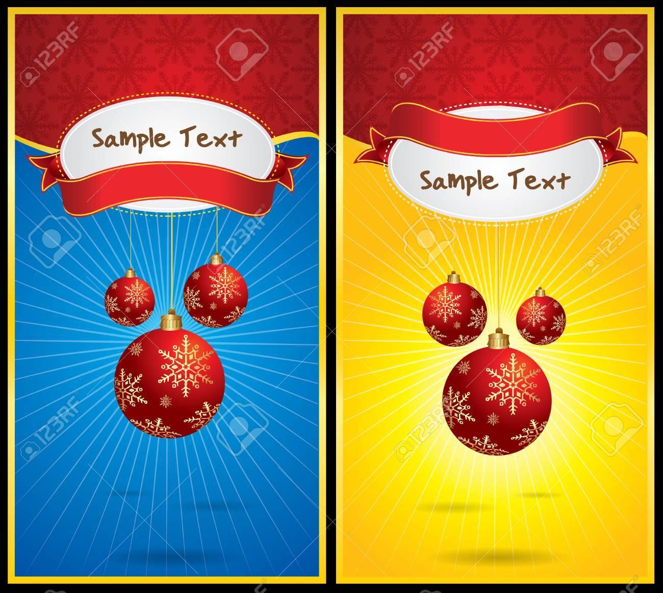 Vector Christmas Banner Stock Vector - 11101378