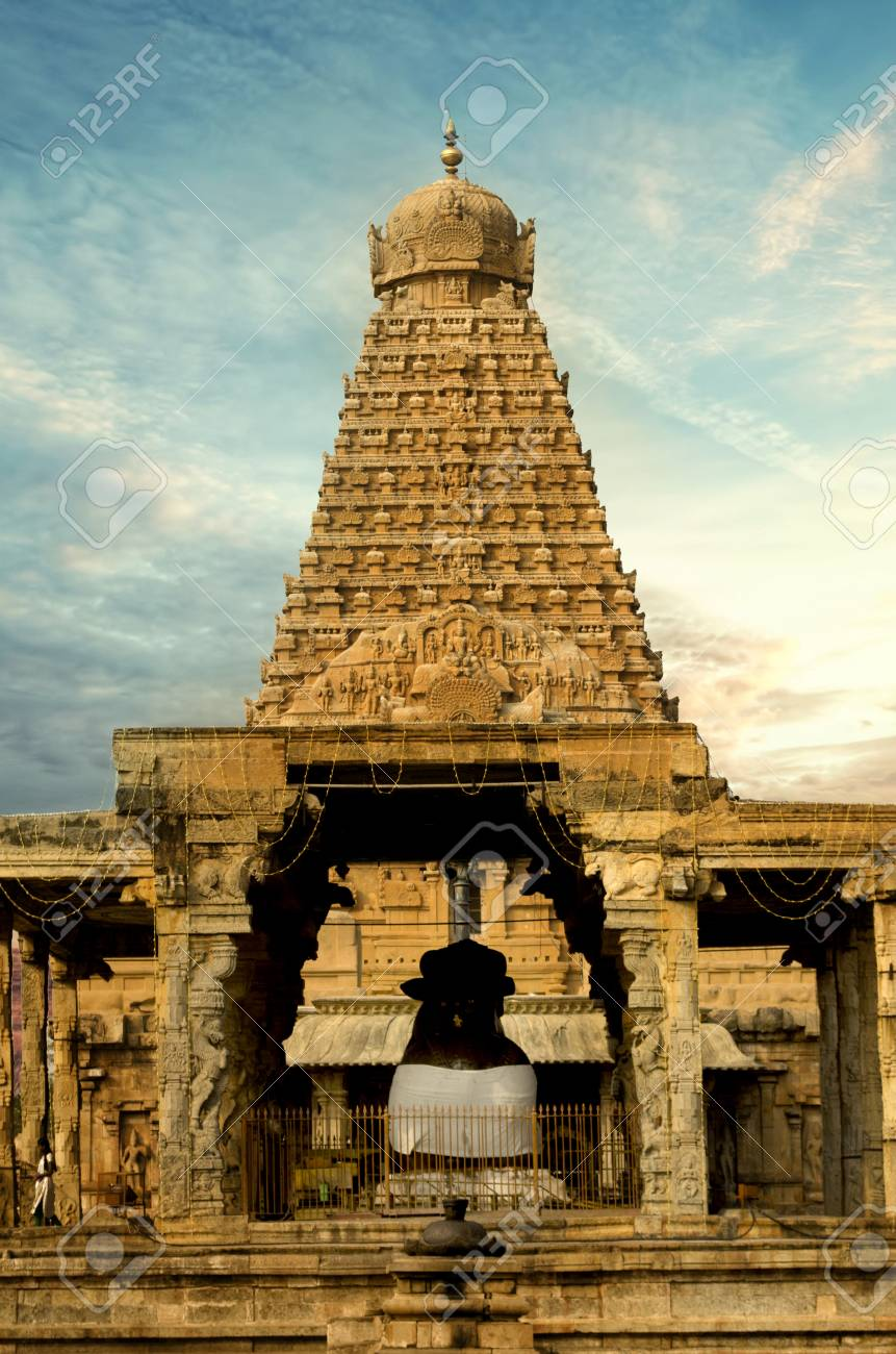 Tanjore Big Temple Stock Photo Picture And Royalty Free Image