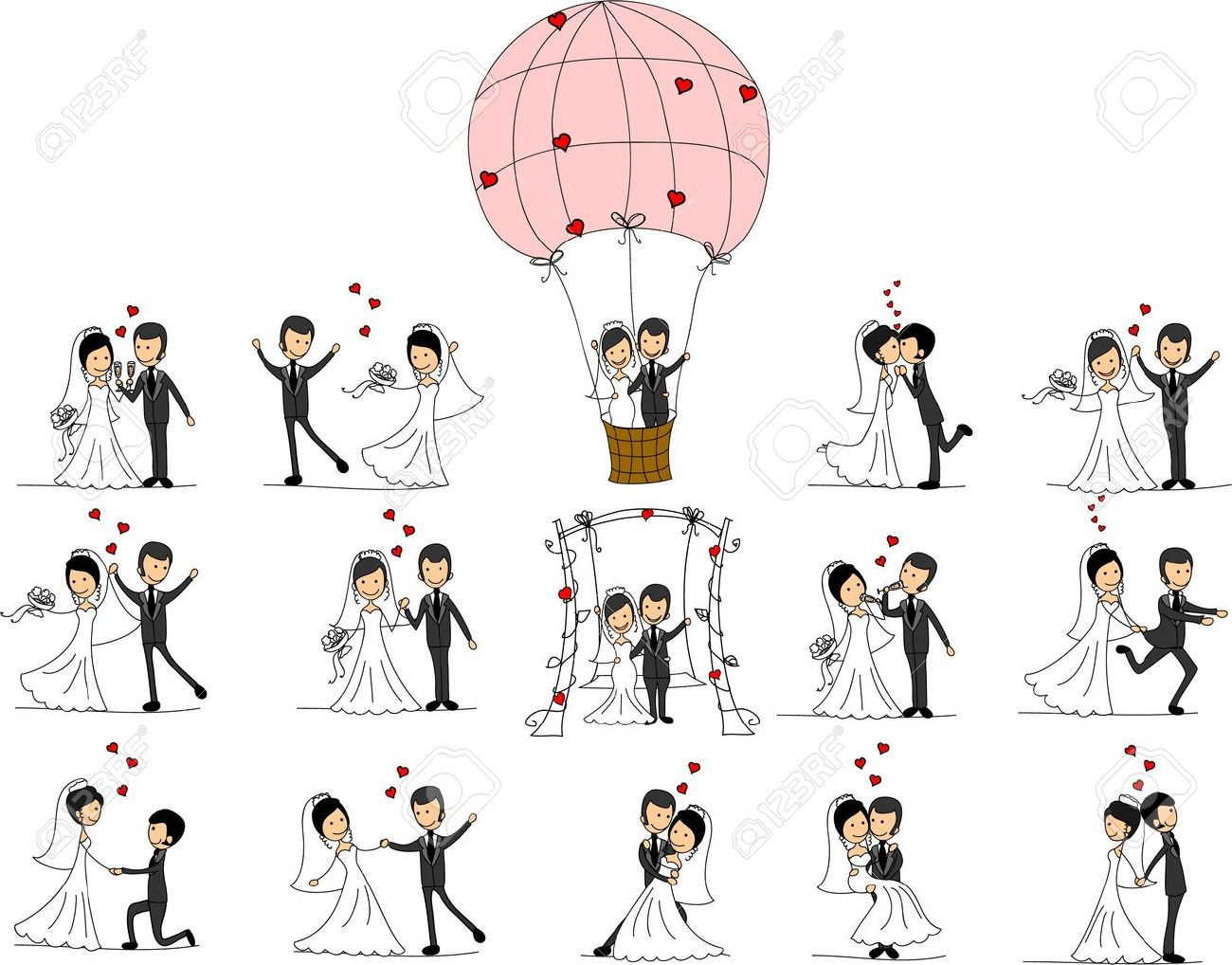 Wedding pictures, love the bride and groom - 11498992