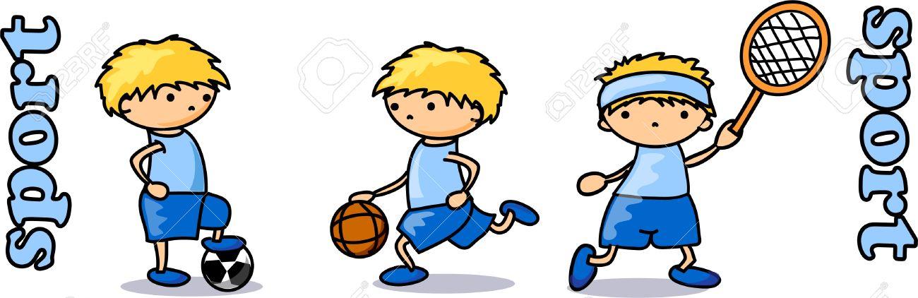 cartoon sport icon Stock Vector - 11498973