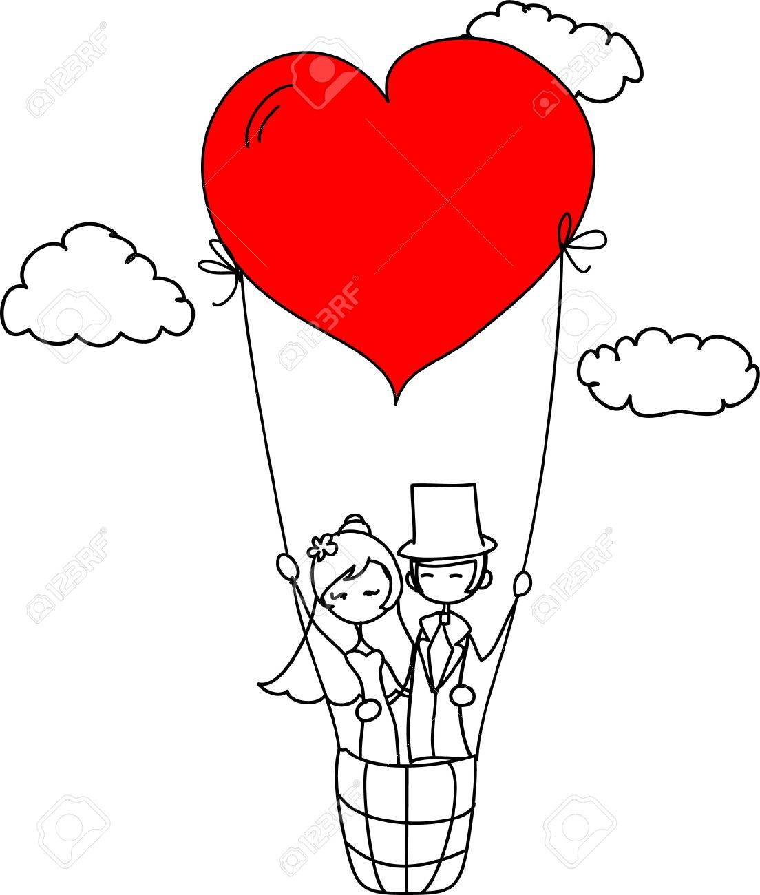 wedding picture Stock Vector - 11657418