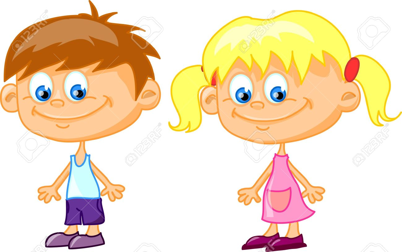 vector cartoon children - Cartoon Children Pictures