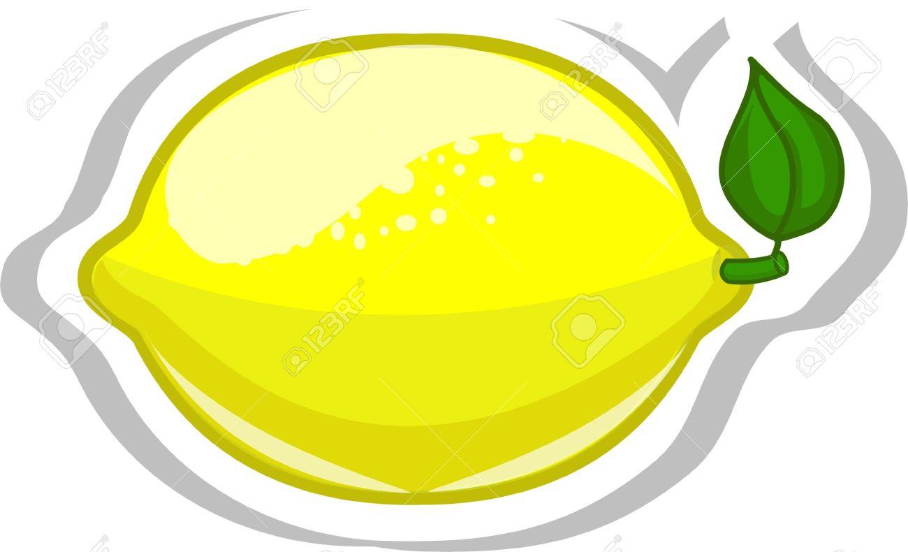 Cartoon lemon Stock Vector - 13125474