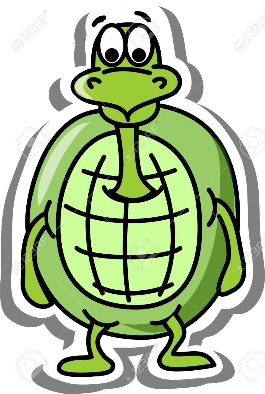 Cartoon turtle Stock Vector - 14749211