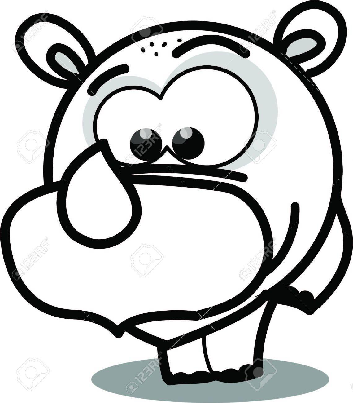 Cartoon vector rhinoceros Stock Vector - 15305101