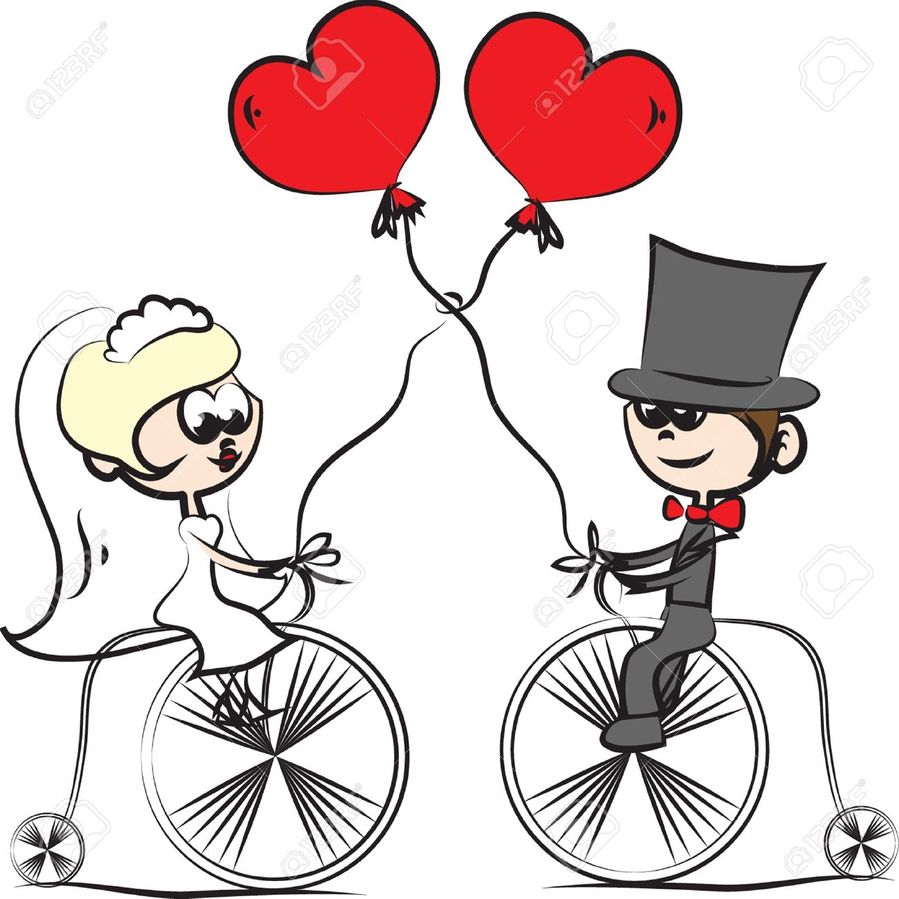Cartoon Wedding Pictures Royalty Free Cliparts Vectors And Stock