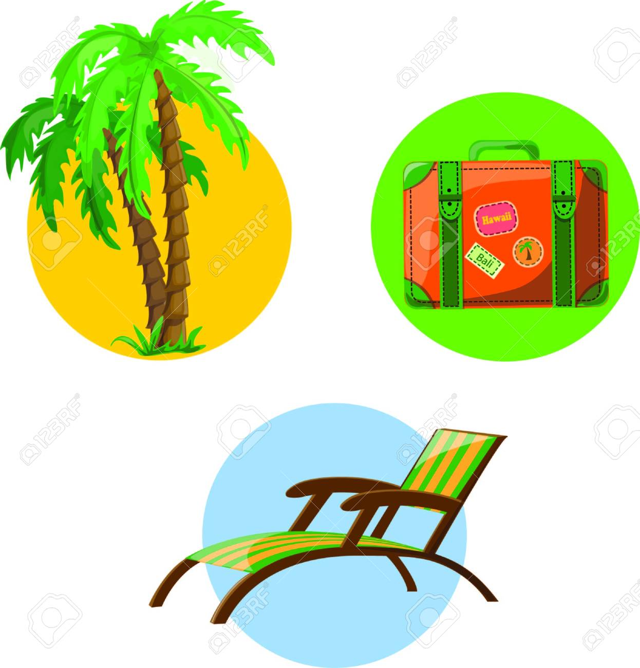 Vacation and travel background Stock Vector - 18230713