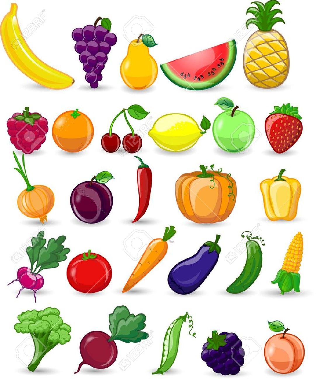 lgumes dessin cartoon lgumes et les fruits