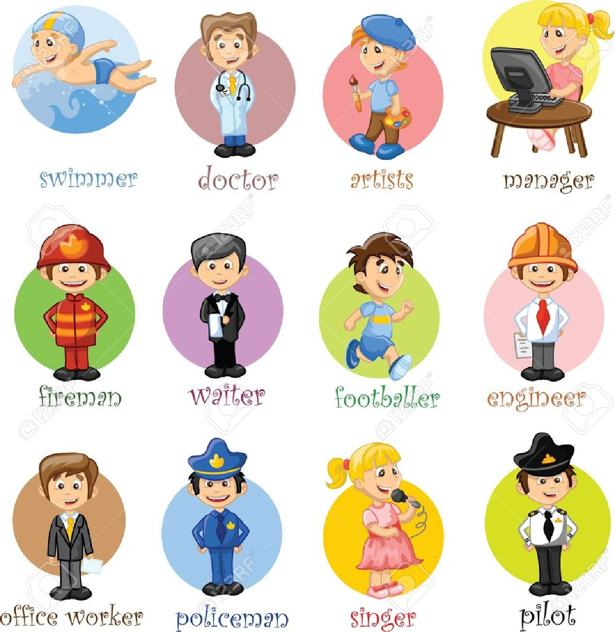 4,585 Kid Safety Stock Vector Illustration And Royalty Free Kid ...