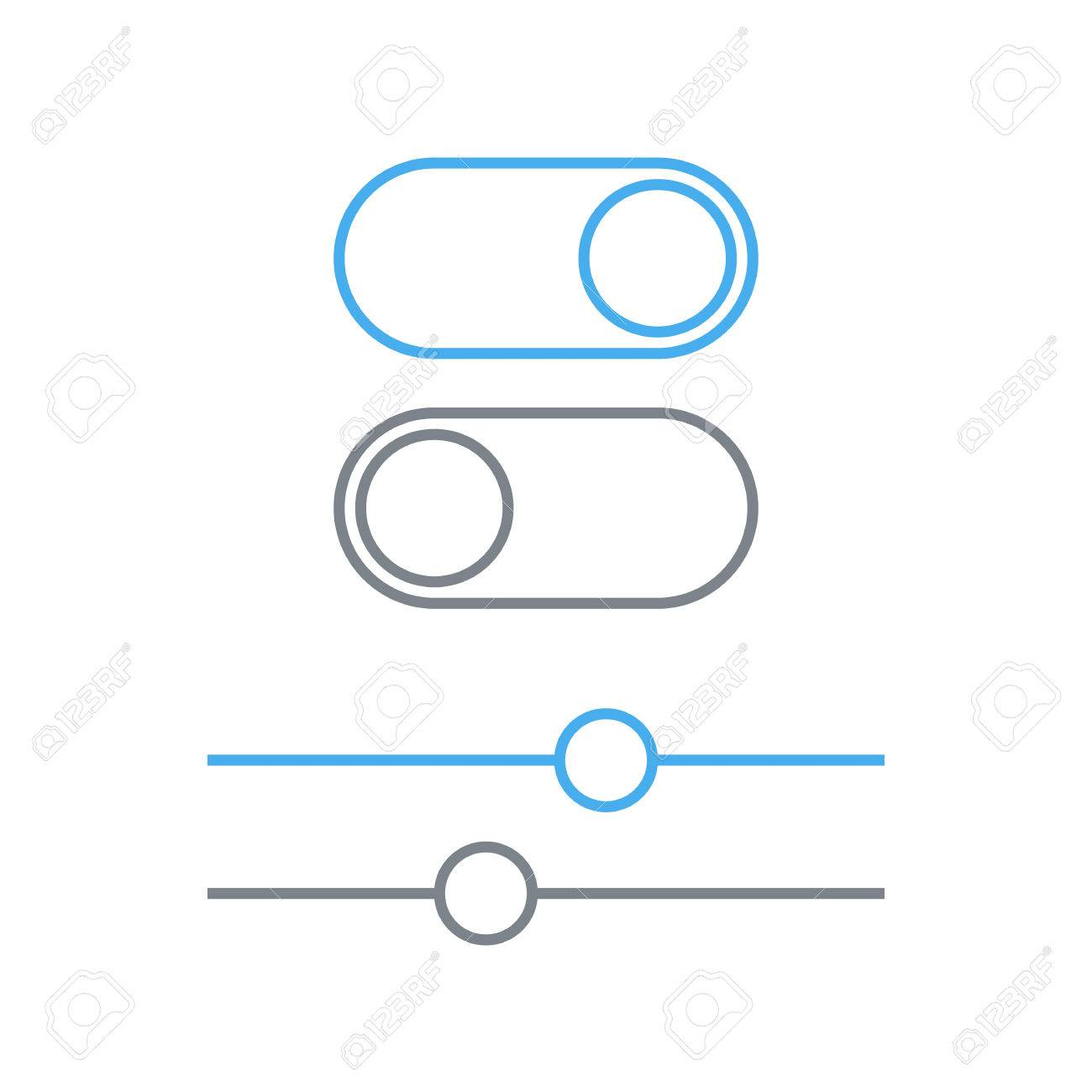 Great toggle switch symbol photos wiring diagram ideas toggle switches and sliders outline icon on and off position biocorpaavc