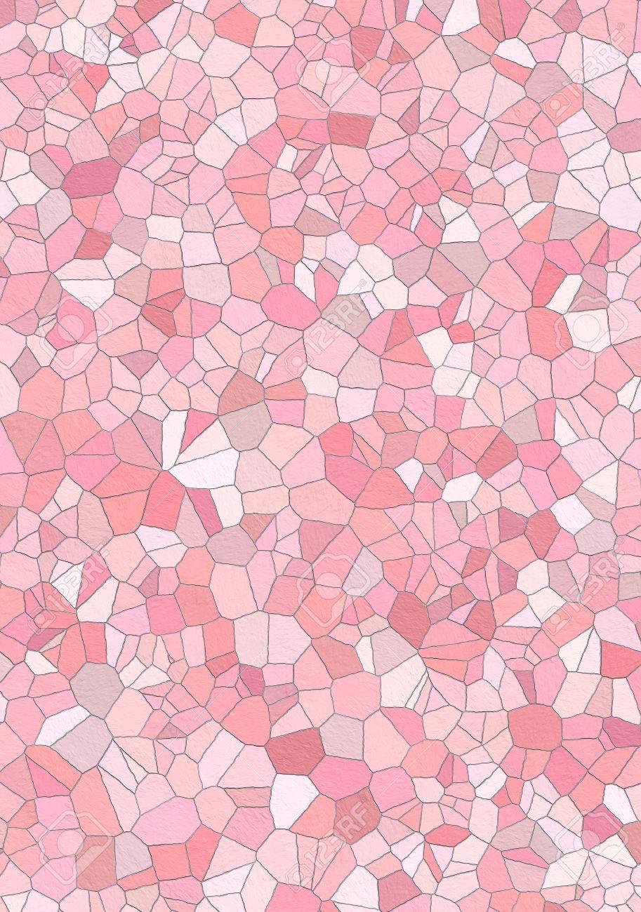 Badezimmer Wand Mit Rosa (verschiedene Farben) Mosaik Fliesen Lizenzfreie  Bilder   2939838