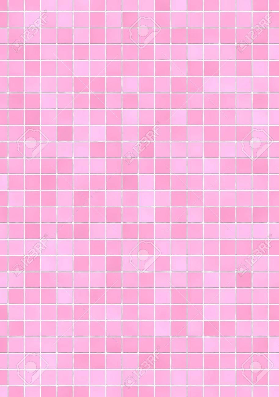 Badezimmer Wand Mit Rosa Unterschiedliche Tone Mosaik Fliesen
