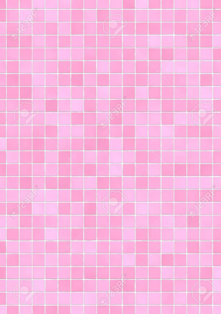 Salle De Bain Mosaique Rose ~ carreaux de mur de la salle de bains avec mosa que de rose teintes
