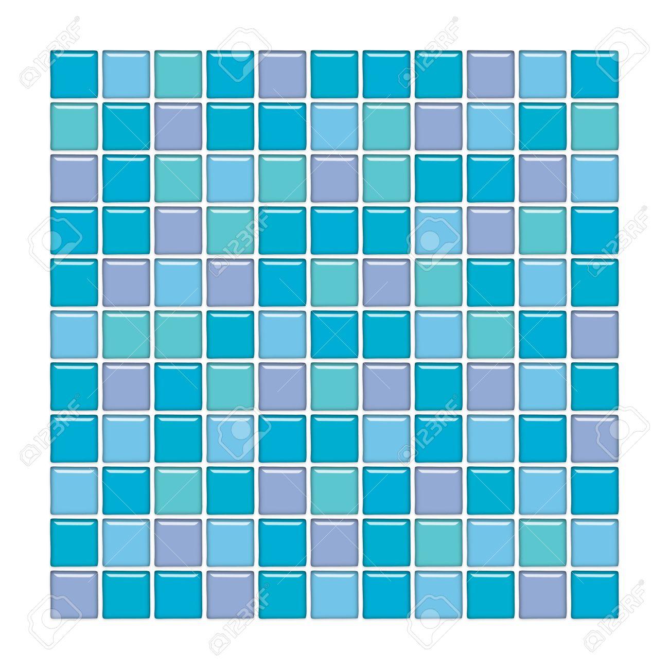 banque dimages salle de bains avec mur bleu vert et violet carreaux de mosaque de verre - Vert Et Violet