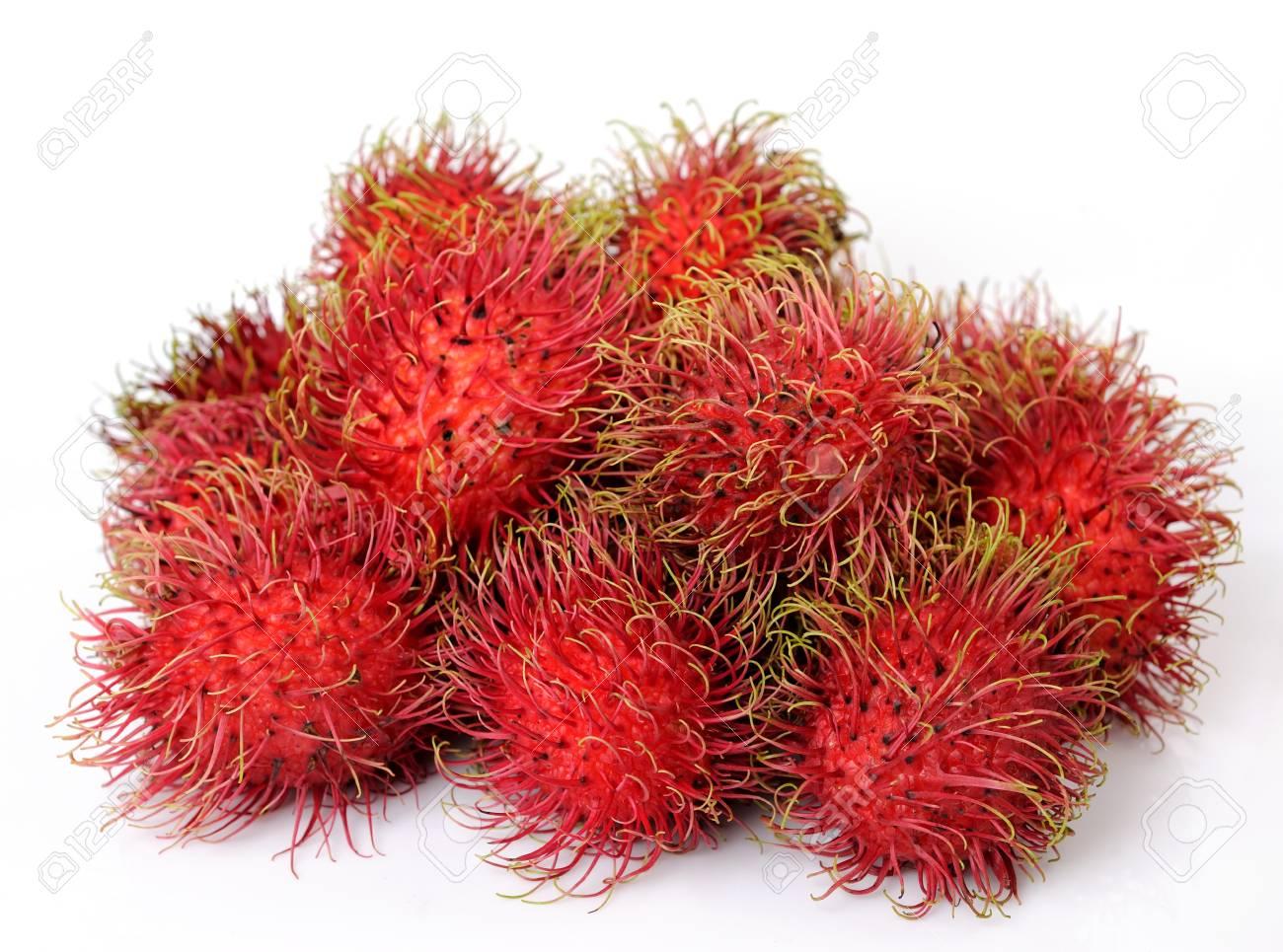 Fresh rambutan sweet delicious Stock Photo - 14482118