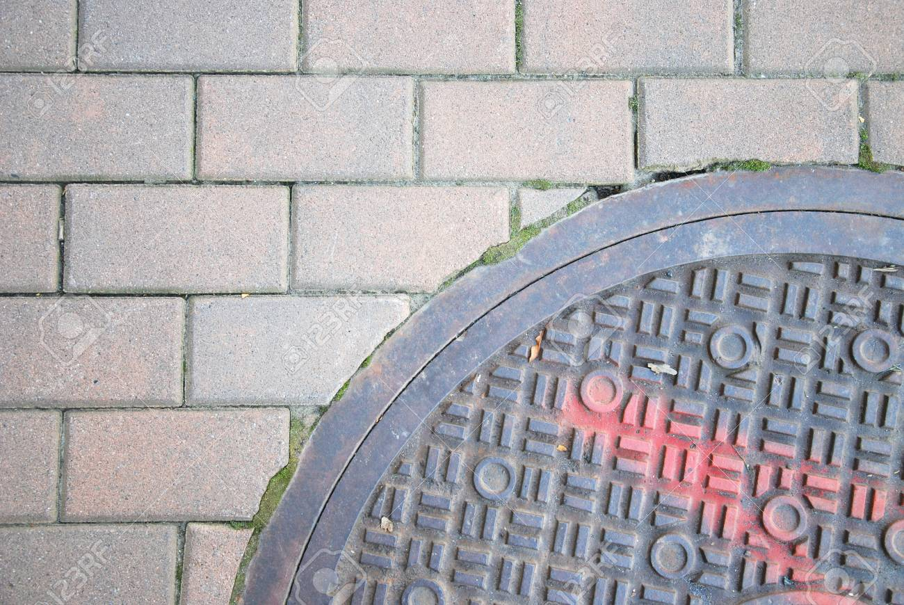 manhole cover Stock Photo - 16936957