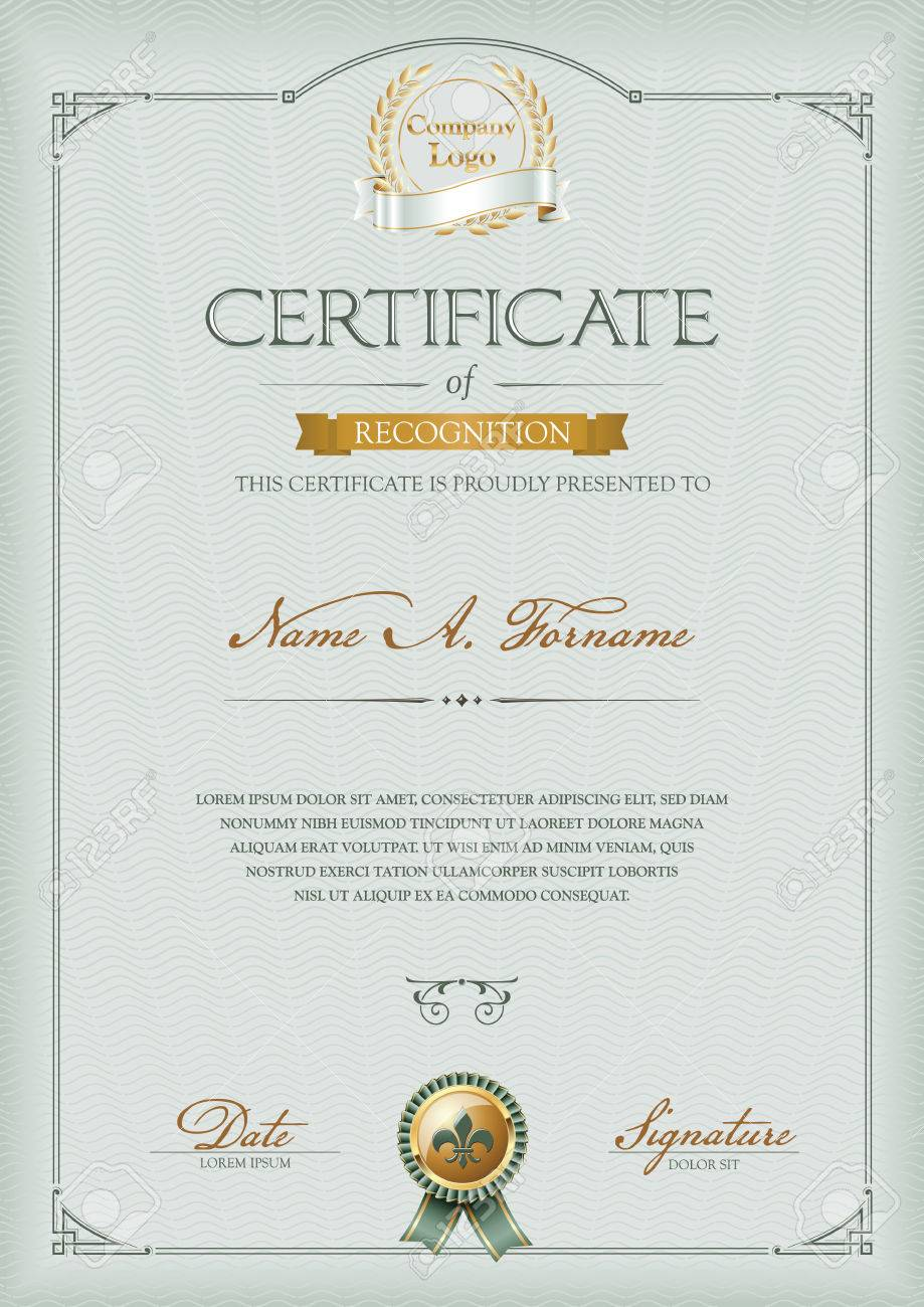 Certificate of recognition certificate of recognition 53039617 yelopaper Choice Image