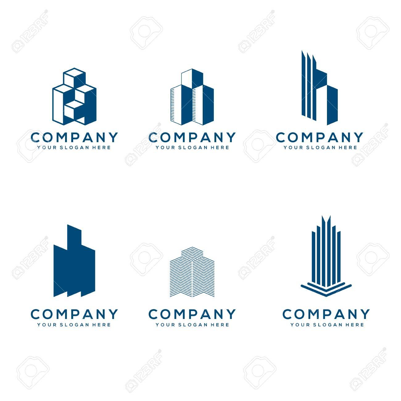 Archivio Fotografico - Real Estate Logo Collection