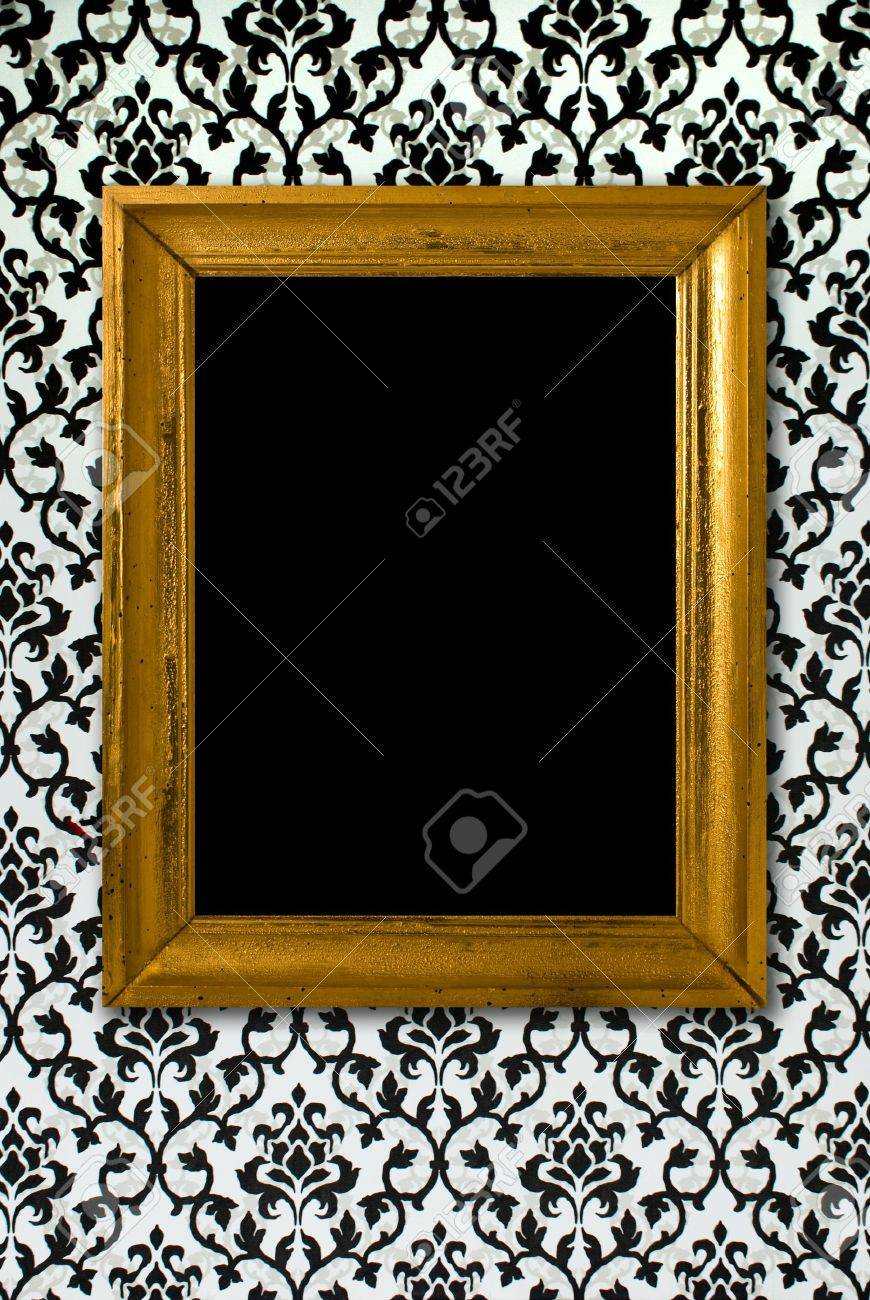 Black And Gold Picture Frames Cb2